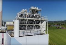 Negative Emissionen: Diese Fabrik verwandelt CO2 in Stein. Hier: Climeworks in Island. (Foto: Youtube)