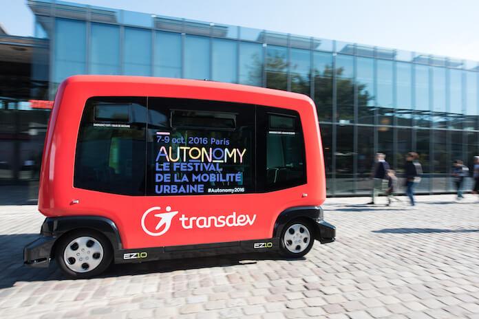 POMP liefern Benzin nach Hause - zu Tankstellenpreisen. Hier, ein Foto der letztjährigen Autonomy Messe (Foto: Autonomy)