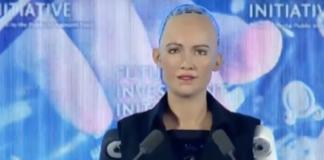 Weiblicher Roboter in Saudi-Arabien bekommt die Staatsbürgerschaft (Foto: Arab News)