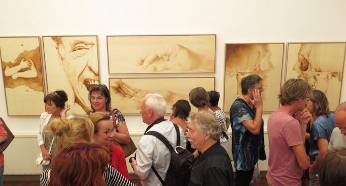 Nick Willems at 'De Twee Pauwen Art Gallery' in Den Haag